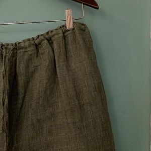 Style & Co Pants - Style & Co. Linen Pants Sz 16 Pull On Drawstring